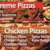 pizza track supreme pizza