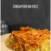 Moosh Cafe & Grill singaporian rice