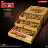 Pizza Hut Triple Treat Box Deal Menu