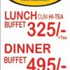 Memories Restaurant lunch dinner buffet price