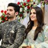 Aiman Khan And Muneeb Butt Dholki Photo