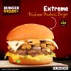Burger O'Clock Mushroom Madness Burger
