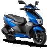 TVS Ntorq 125 blue
