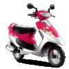 TVS Scooty Pep Plus-princess-pink