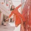 Ravishing Rosa Salazar in Orange