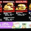 McDonald's Extra Meal Menu