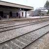 Gambat Railway Station Tracks