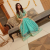 Beautiful Minal Khan In Green Dress