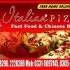 Italian Pizza menu 3