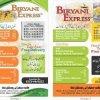 Biryani Express Menu Card 5