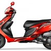 VS Scooty Zest 110-red