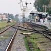 Jhelum Railway Station Tracks