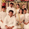 Aiman Khan Family Picture On Her Dholki