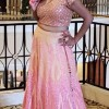 Beautiful Deepti Gupta in Pink Color Dress