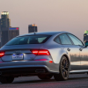 Audi A7 2016 Grey Back View