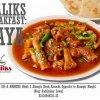 Malik's Restaurant Breakfast Paya