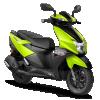 TVS Ntorq 125-green