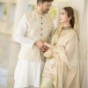 Ayesha Khan With Her Husband Uqbah Malik