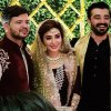 Ayesha Khan With Her Husband and Brother