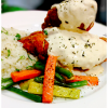 Moosh Cafe & Grill stuffed chicken