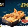 Burger O'Clock Iftaar Platter