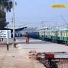 Sukkur Railway Station - Outside View