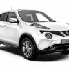 Nissan Juke - white