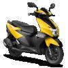 TVS Ntorq 125-yellow