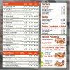 Pizza Pizzaz Menu Card 1