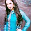 Beautiful Humera Arshad In blue Dress