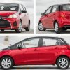 Toyota Vitz RS 1.5 2018 - red