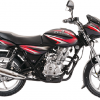 Bajaj Discover 125 -black-red