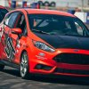 Ford Fiesta ST - red 1
