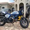 Ducati Scrambler - Blue