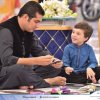 Iqrar Ul Hassan with his cute son