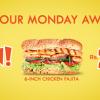 Subway Monday Deal