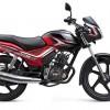TVS Star City Plus black-red-bike