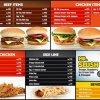 Mr. Burger Menu 3
