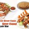 Lava Grill Reshmi Kabab