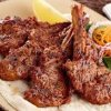 Al Inaab fried mutton