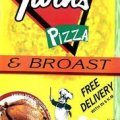 Twins Pizza & Broast Logo
