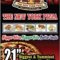 The New Yorker Pizza Logo