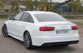 Audi A6 2016 White Back