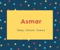 Asmar Name Meaning Deep, Yellow, Tawny