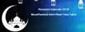 Ramadan Calender 2019 Muzaffarabad Sehri Iftaar Time Table