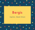 Bergis Name Meaning Jupiter, Small Stars