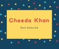 Cheeda Khan Name Meaning Rais Selected
