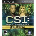 Crime Scene Investigation Fatal Conspiracy for PS3