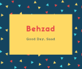 Behzad Name Meaning Designer