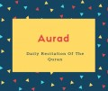 Aurad Name Meaning Another Name Daily Recitation Of The Quran